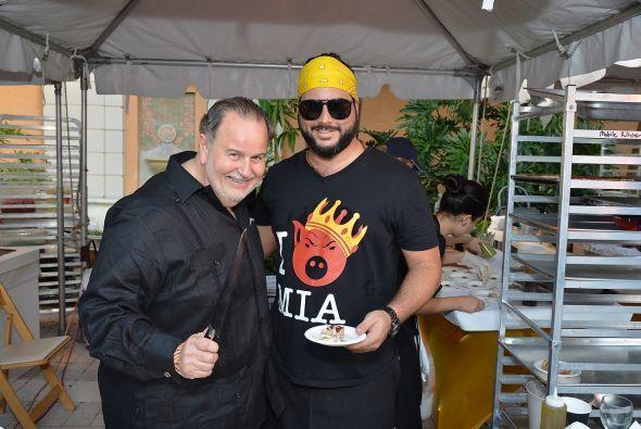 Los chefs saben que Raúl es un consumidor que hay que complacer, pues su...