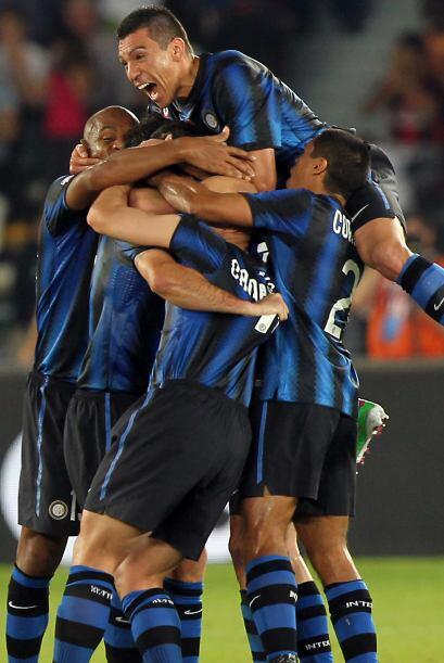Mientras que el Inter logró un sufrido triunfo de 2 a 1 ante el M...