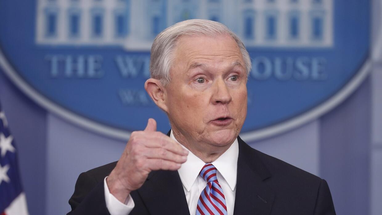 El fiscal general Sessions es uno de los miembros del gobierno de Trump...