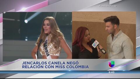 ¿Es Miss Colombia la 'baby' de Jencarlos Canela?