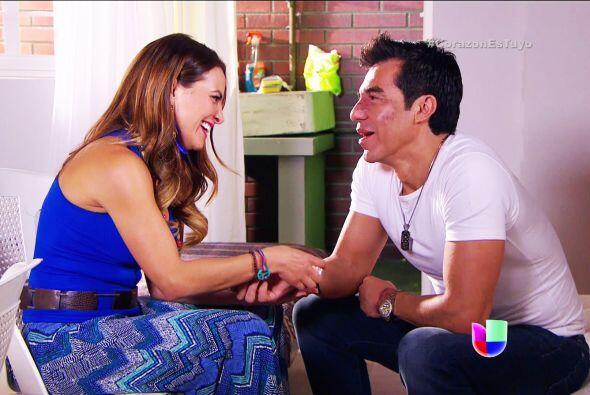 Diego llegó a su vida y parece que su relación va en serio.