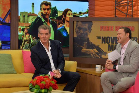 Brosnan confesó que después de esta cinta planea ya la secuela.