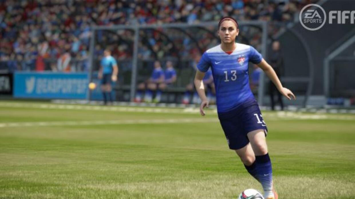 Alex Morgan estará en el FIFA 16.