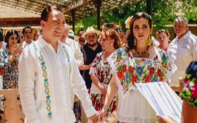 ¿Será verdad que Cristian Castro se casó a las carreras porque su novia...