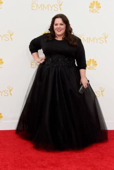 ¿Ustedes qué tipo de vestido le recomendarían a Melissa Mccarthy? A noso...
