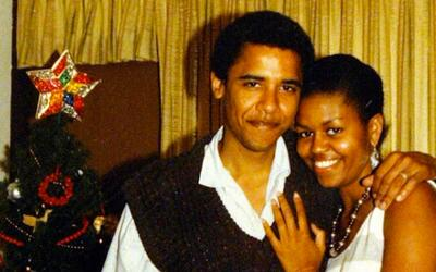 Michelle Obama mantuvo la costumbre de compartir fotos viejas durante su...