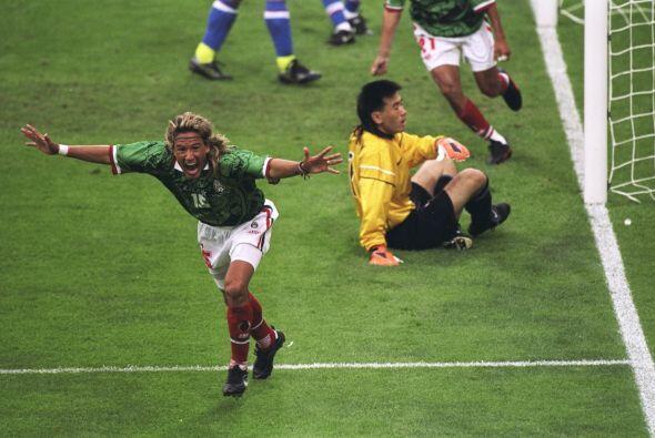 En el primer partido, México enfrentó en Lyon  a Corea del...