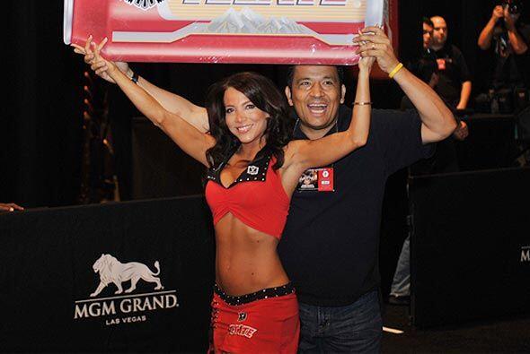 Rafa 'El Alcalde' llevó su Locura Deportiva a Las Vegas.