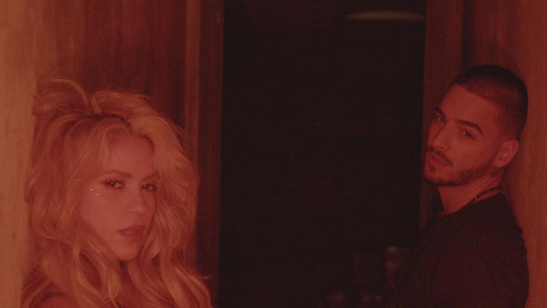 Shakira y Maluma presentan 'Chantaje'.