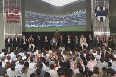 Rayados de Monterrey inauguró oficialmente el su nuevo estadio