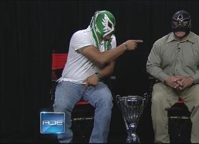 Luchadores en la Copa Univisión