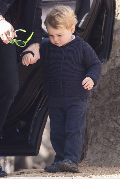 El pequeño de un año y nueve meses, ya quiere correr por todos lados.