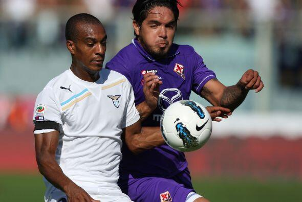Gran duelo el que disputaron Lazio y Fiorentina.