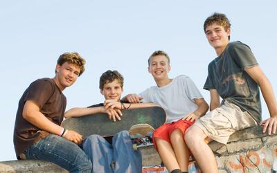 teenager boys