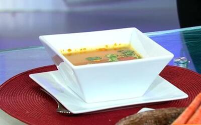 La sopa ideal para bajar de peso