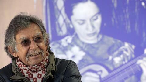 Angel Parra, hijo de Violeta Parra, falleció el sábado 11...