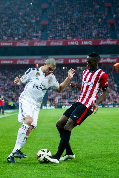 Pepe tampoco tuvo su mejor partido y dejó ver que todavía...