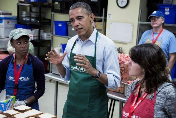 El presidente insistió en  dejar de lado las preocupaciones partidistas...