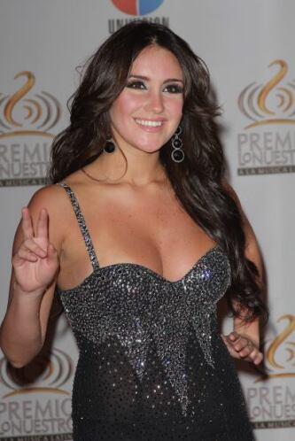 Dulce María en Premio Lo Nuestro 2012.