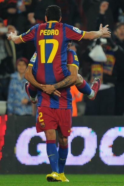 El partido tomó su rumbo cuando Pedro puso el 1-0 al minuto 47.