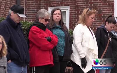 Protesta silenciosa en Dover contra las medidas de Donald Trump