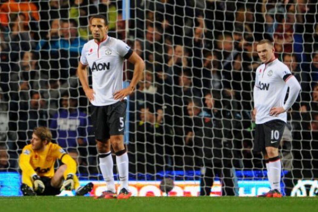 Manchester United se veía desbordado por la efectividad de un punzante A...