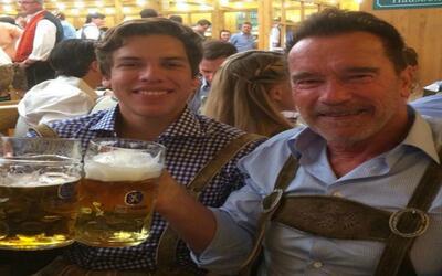 GYF digital: Arnold Schwarzenegger y su hijo Joseph Baena se han convert...