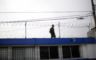 Cárcel en Guatemala