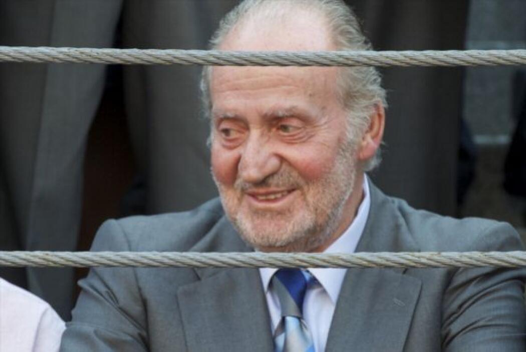 Juan Carlos asiste a las corridas de toros 'Press Association' en la Pla...