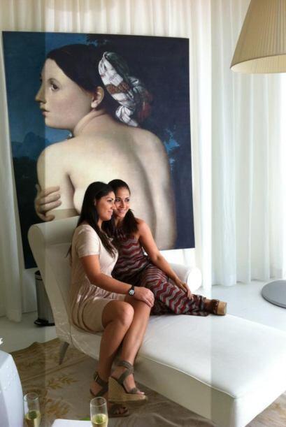 Jackie Guerrido siempre esta muy bien acompañada por sus hijos Kobe y Ad...