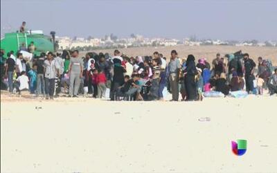 La dramática historia de los refugiados sirios