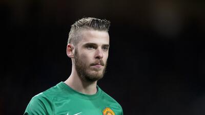 David de Gea rechazó que esté negado a seguir jugando con el United.