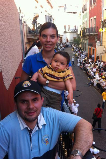 En compañía de su familia, Florencia emprendió un largo viaje desde la C...
