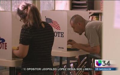 Bajo porcentaje de votantes en California