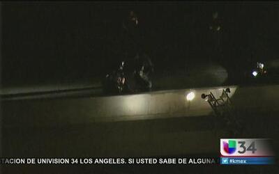 Hombre paralizó la autopista 60