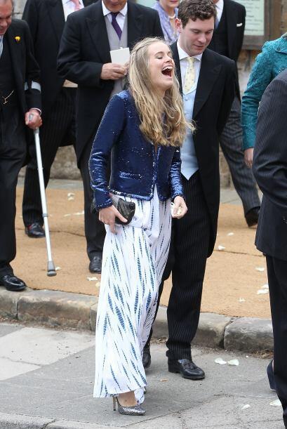 Incluso la novia de Harry, Cressida Bonas, se quedó con las ganas de ir...