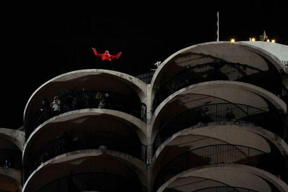 """No es gratuito el mote de """"Daredevil"""" que la gente le gritaba para apoya..."""