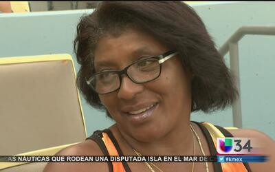 Maritza Puig, madre y aficionada de los Dodgers