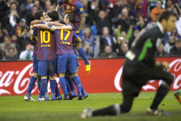 Lionel Messi sumó un tanto más a los que ya había m...