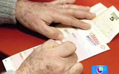 La bolsa acumulada de la lotería Mega Millions llega a los $309 millones...
