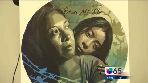 La Alcaldía Se Pinta Con Mural Sobre Deportación