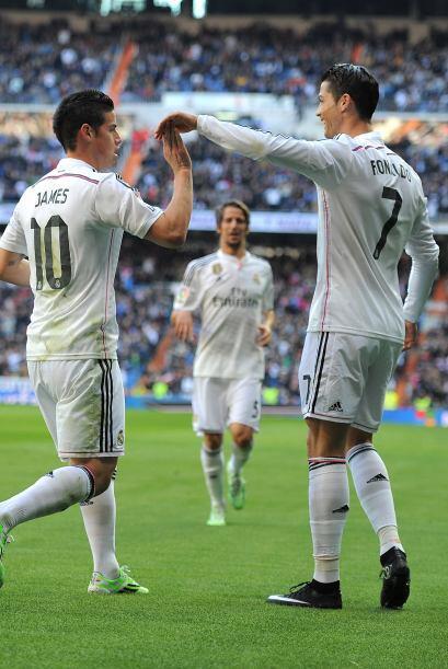 Mientras, en la fecha previa el Real Madrid derrotó sin contratiempos 3-...