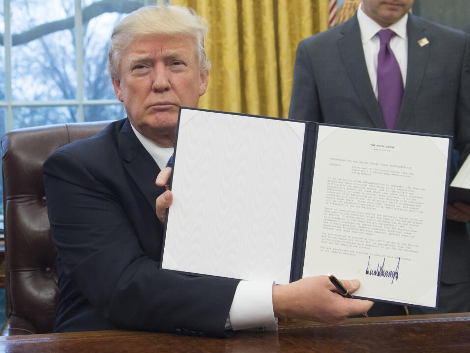100 días Trump