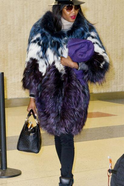 Comenzamos el juicio 'fashionista' de la semana con la modelo Naomi Camp...