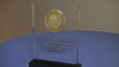La Huella Digital recibe premio Edward Murrow