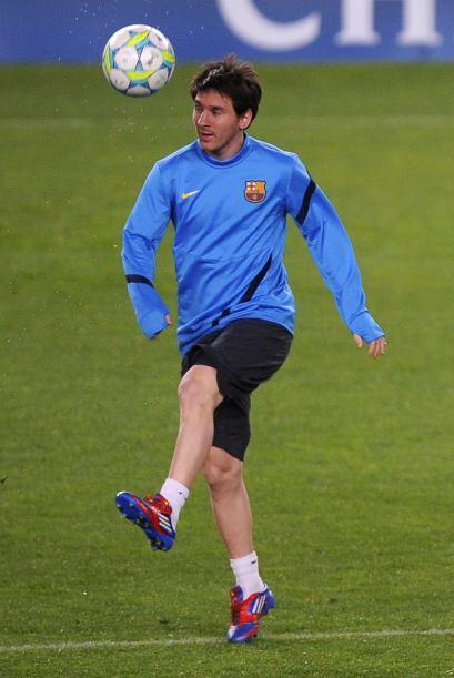 Messi llega a este partido de Champions League con 42 goles y 21 asisten...
