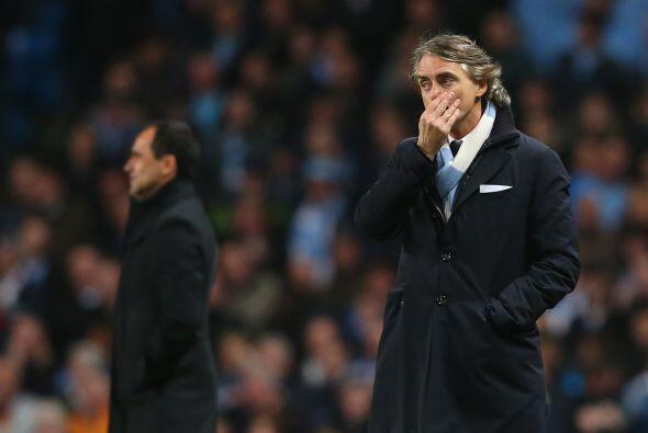 El técnico Roberto Mancini sabía que su equipo estaba pasando un mal mom...
