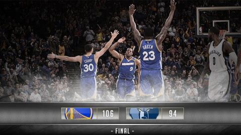 Fue la séptima victoria seguida de los Warriors.