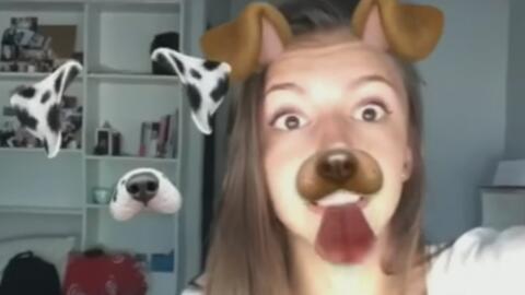 Cuidado cuando uses los filtros de Snapchat, no vaya a ser que te encuen...
