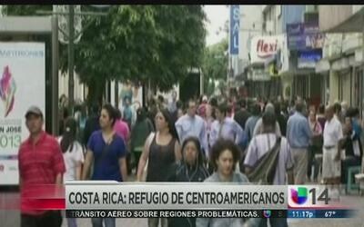 Costa Rica, refugio de centroamericanos